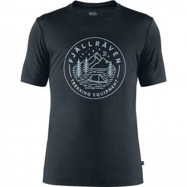 T-Shirt wełniany męski Abisko Wool Tältplats SS M
