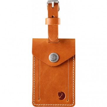 Skórzany identyfikator bagażu Fjallraven Leather Luggage Tag