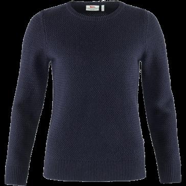 Sweter wełniany damski Fjallraven Övik Structure