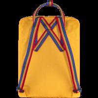 Plecak Fjallraven Kånken Rainbow Warm Yellow-Rainbow Pattern