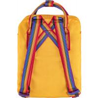 Plecak Kånken Rainbow Mini Warm Yellow/Rainbow Pattern