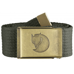 Pasek Fjallraven Canvas Brass Belt 4 cm