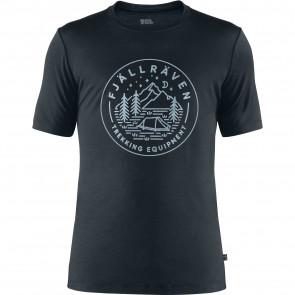 T-Shirt wełniany męski Fjallraven Abisko Wool Tältplats SS M