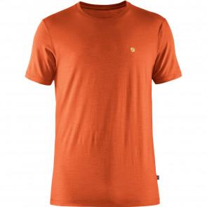 T-shirt bawełniany męski Fjallraven Bergtagen Thinwool SS