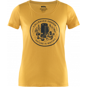 T-shirt szybkoschnący damski Fjallraven Fikapaus T-shirt W