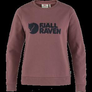 Bluza bawełniana damska Fjallraven Logo Sweater