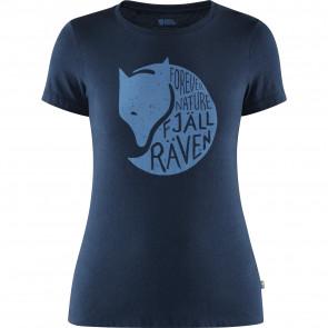 T-Shirt bawełniany damski Fjallraven Forever Nature T-Shirt W