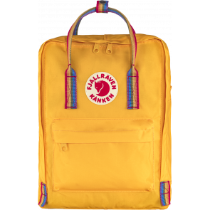 Plecak Fjallraven Kånken Rainbow Warm Yellow-Rainbow Pattern