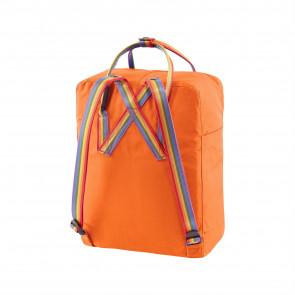 Plecak Fjallraven Kånken Rainbow Burnt Orange/Rainbow Pattern