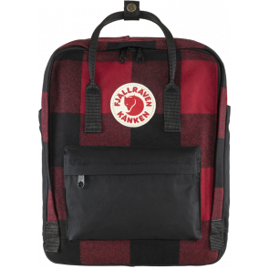 Plecak Fjallraven Kånken Re-Wool Red/Black