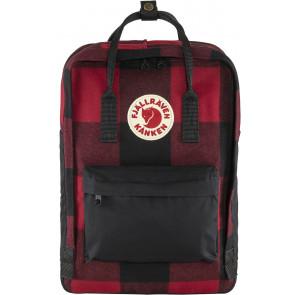 Plecak Fjallraven Kånken Re-Wool Laptop Red/Black