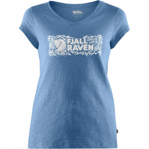 T-Shirt bawełniany damski Fjallraven Logo Stamp T-Shirt W